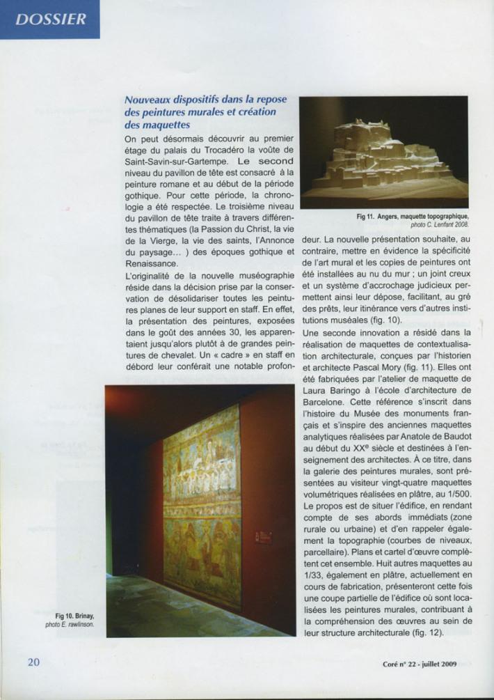 CONSERVATION ET RESTAURATION DU PATRIMOINE CULTUREL 2