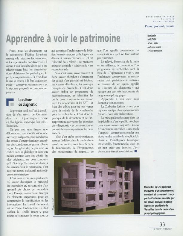 LE PIERRE D'ANGLE 2